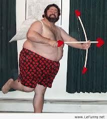 fat guy cupid
