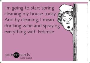 spring cleaning joke