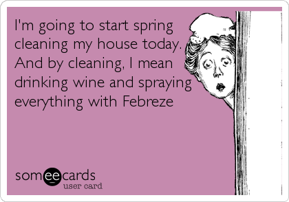 spring cleaning joke