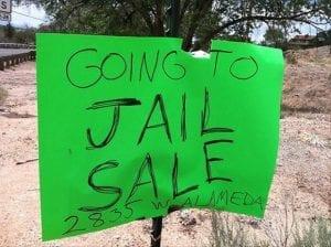 jail sign